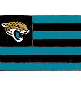 RUSTIC MARLIN Jacksonville Jaguars Rustic Team Flag