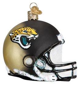 OLD WORLD CHRISTMAS Jacksonville Jaguars Helmet Ornament
