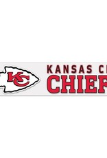 "WINCRAFT Kansas City Chiefs 4""x17"" Perfect Cut Decals"