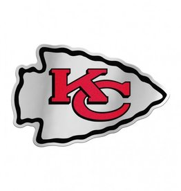 Kansas City Chiefs Laser Cut Auto Badge Decal