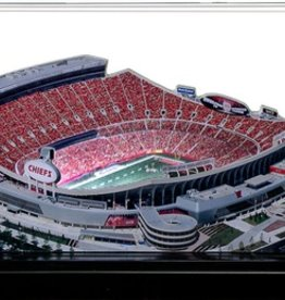 HOMEFIELDS Kansas City Chiefs 9in Lighted Replica Arrowhead Stadium
