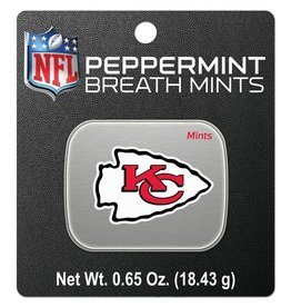 Kansas City Chiefs Breath Mints Tin
