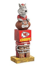 EVERGREEN Kansas City Chiefs Tiki Totem