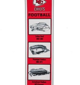 Kansas City Chiefs Stadium Heritage Banner