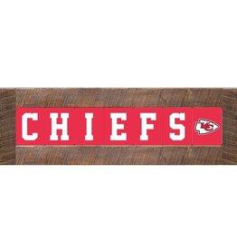 RUSTIC MARLIN Kansas City Chiefs Marlin Classic Wood Sign