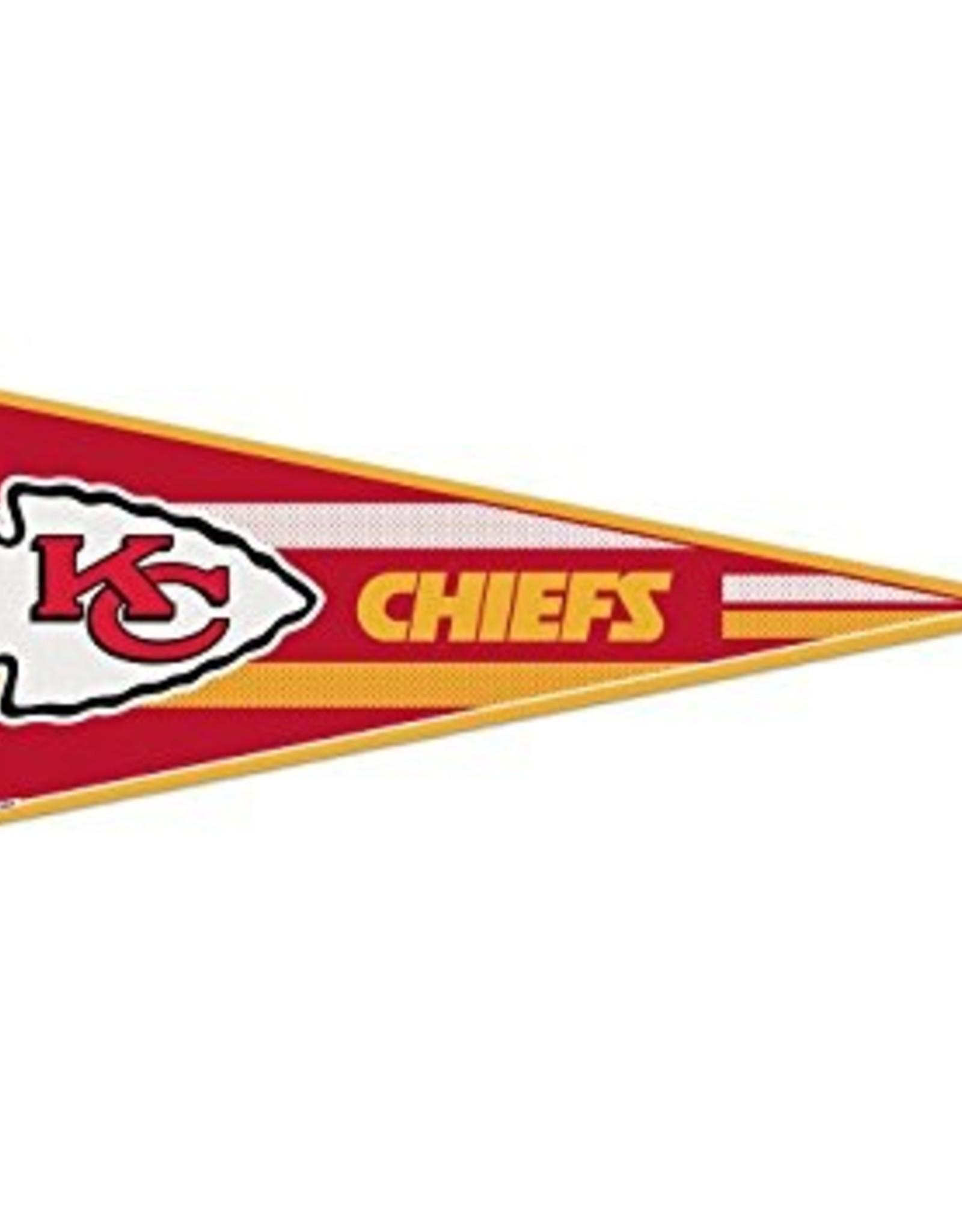 "WINCRAFT Kansas City Chiefs 12""x30"" Classic Pennant"