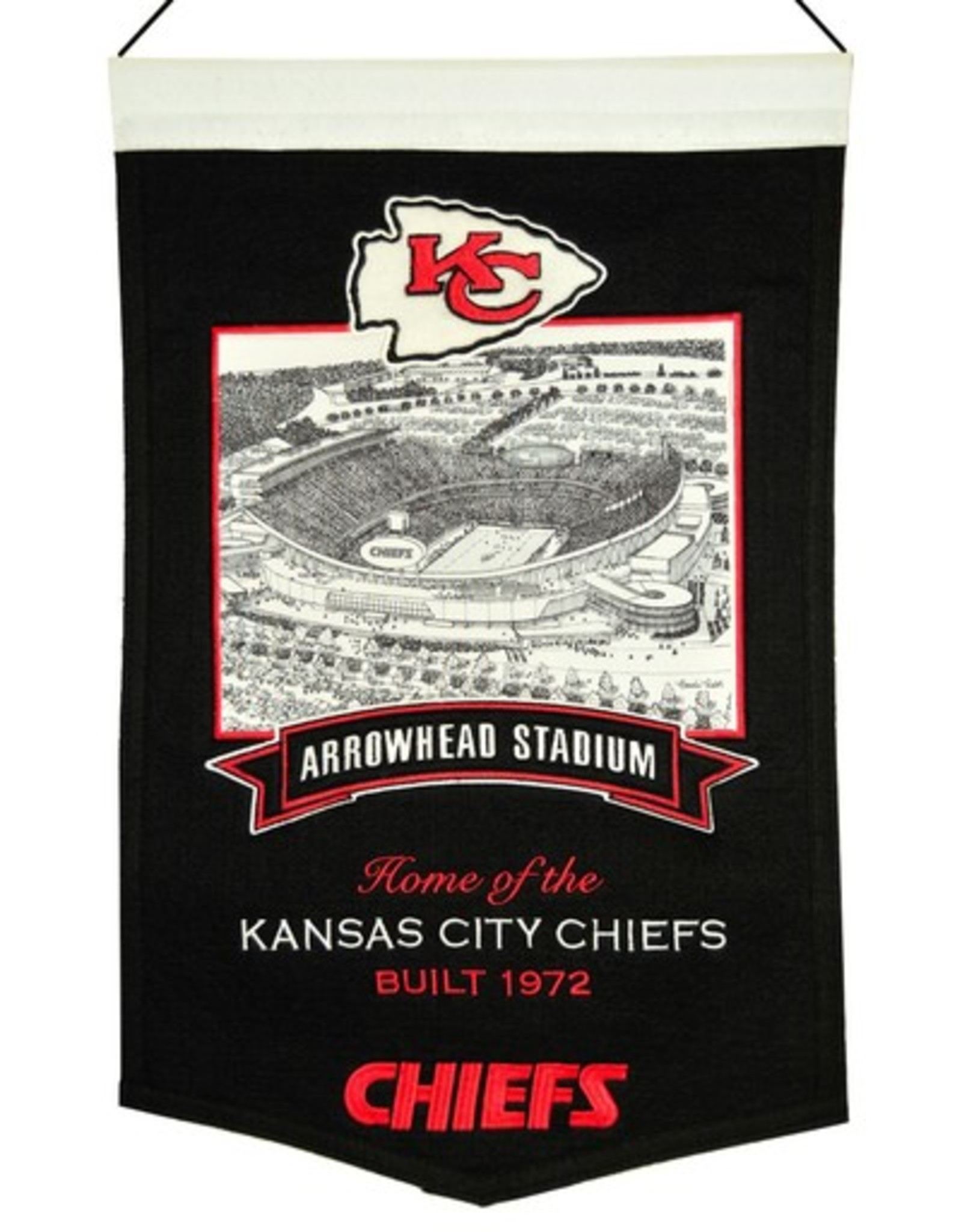 Kansas City Chiefs Arrowhead Stadium Banner