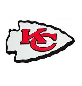 Kansas City Chiefs 3D Foam Logo Sign