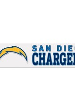 "WINCRAFT Los Angeles Chargers 4""x17"" Perfect Cut Decals"