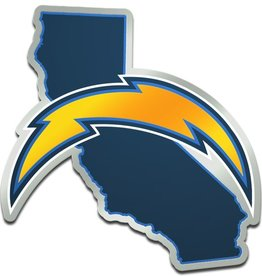 Los Angeles Chargers State Auto Emblem