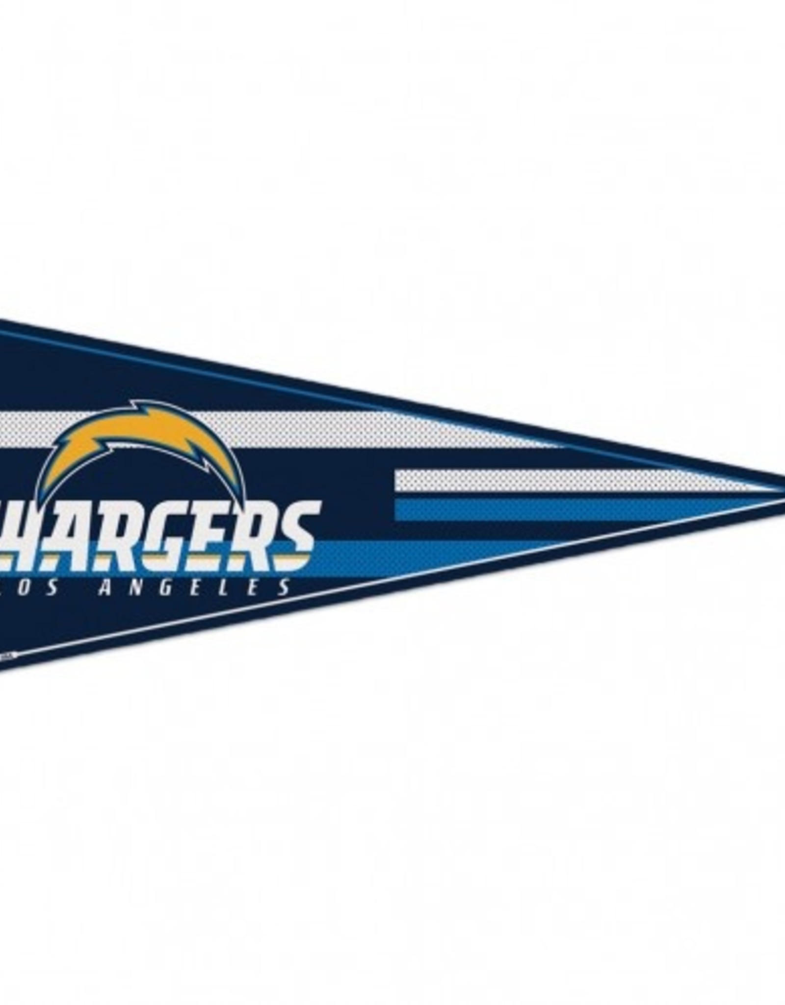 "Los Angeles Chargers 12""x30"" Classic Pennant"