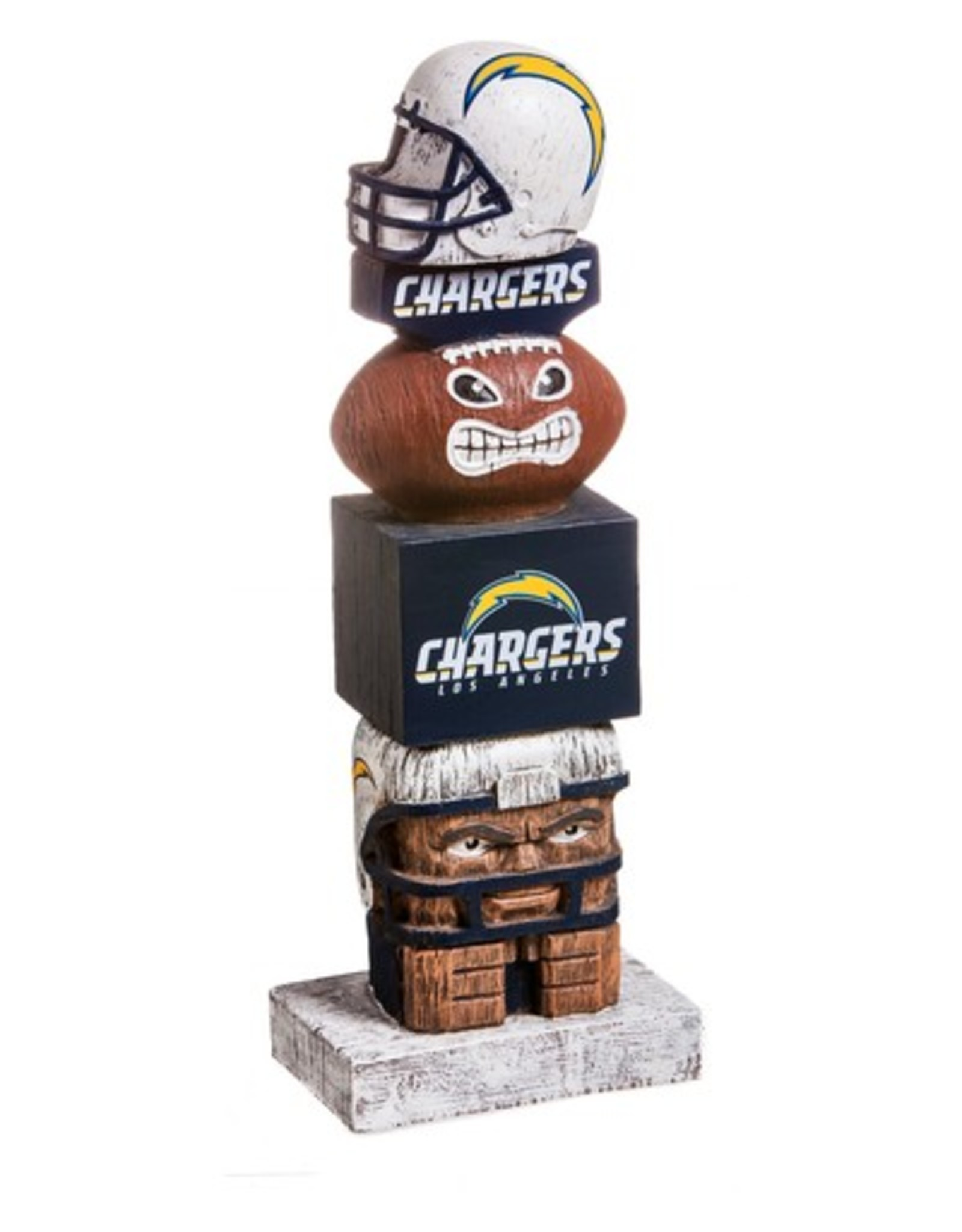 EVERGREEN Los Angeles Chargers Tiki Totem