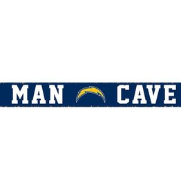 RUSTIC MARLIN Los Angeles Chargers Rustic Man Cave Sign