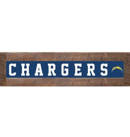 RUSTIC MARLIN Los Angeles Chargers Marlin Classic Wood Sign