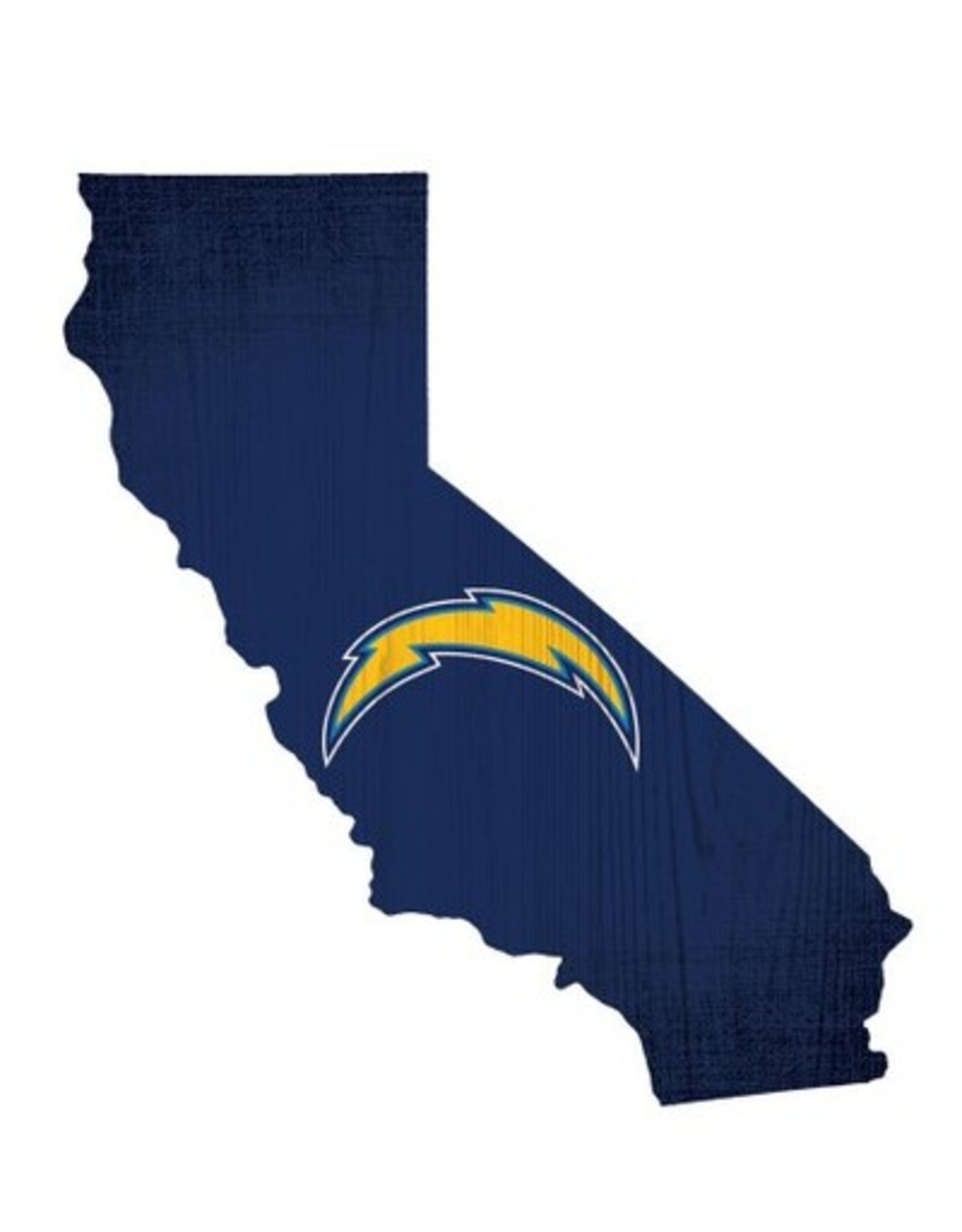 FAN CREATIONS Los Angeles Chargers Team Logo State Sign