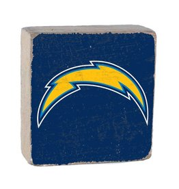 RUSTIC MARLIN Los Angeles Chargers Rustic Wood Team Block