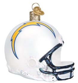 OLD WORLD CHRISTMAS Los Angeles Chargers Helmet Ornament