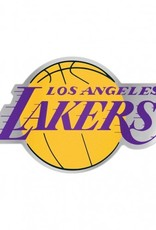 Los Angeles Lakers Laser Cut Auto Badge Decal