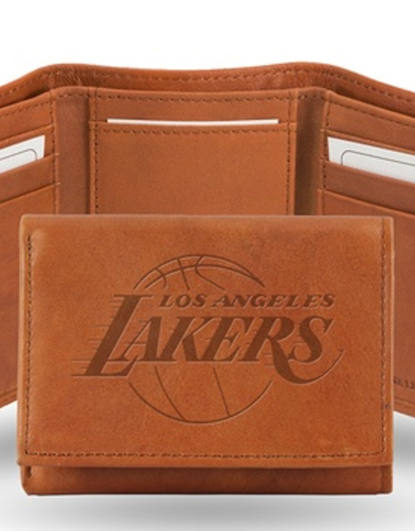 RICO INDUSTRIES Los Angeles Lakers Genuine Leather Vintage Trifold Wallet