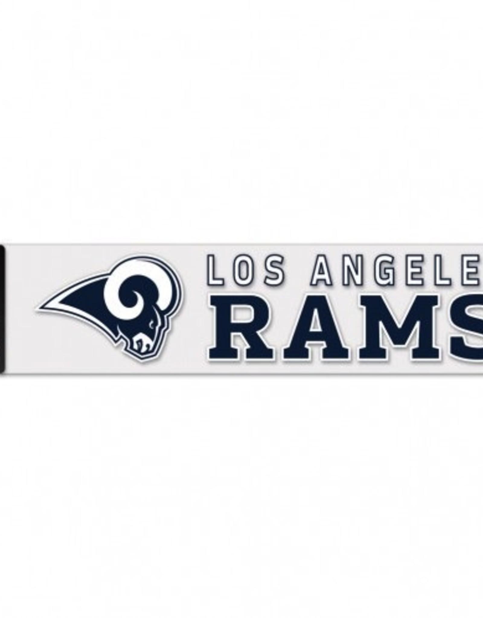 "WINCRAFT Los Angeles Rams 4""x17"" Perfect Cut Decals"