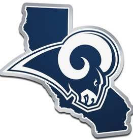 Los Angeles Rams State Auto Emblem