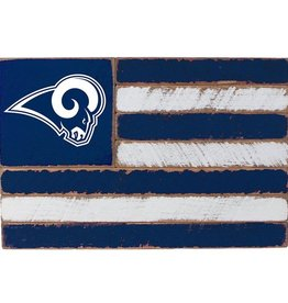 RUSTIC MARLIN Los Angeles Rams Rustic Team Flag