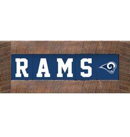 RUSTIC MARLIN Los Angeles Rams Marlin Classic Wood Sign