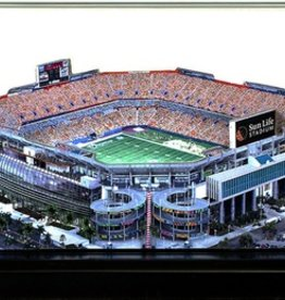 HOMEFIELDS Miami Dolphins 9in Lighted Replica Sun Life Stadium
