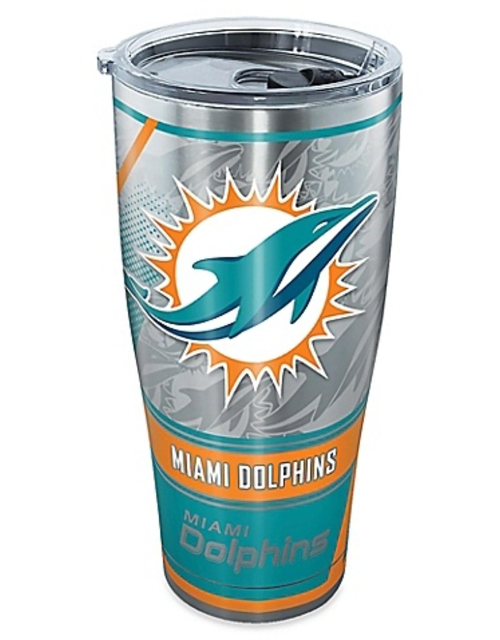 TERVIS Miami Dolphins TERVIS 30oz Stainless Edge Tumbler
