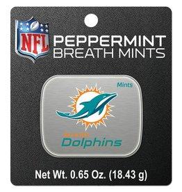 Miami Dolphins Breath Mints Tin