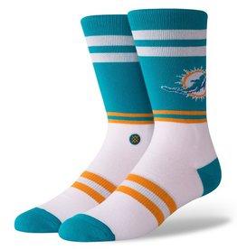 STANCE Miami Dolphins Logo Crew Socks