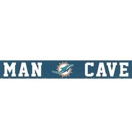 RUSTIC MARLIN Miami Dolphins Rustic Man Cave Sign