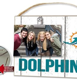 KINDRED HEARTS Miami Dolphins Clip It Photo Frame