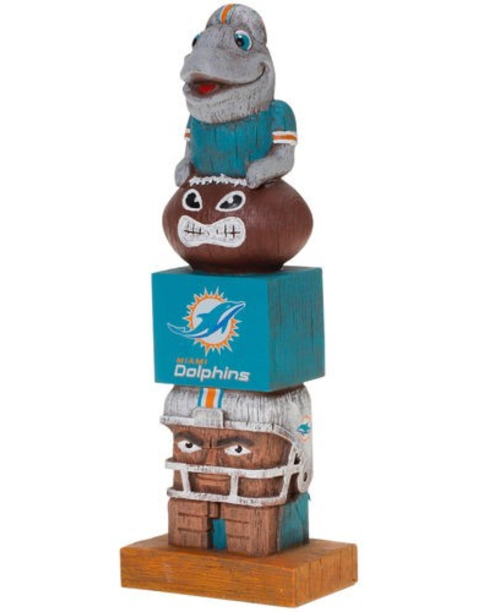EVERGREEN Miami Dolphins Tiki Totem