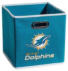 Miami Dolphins Storage Bin