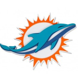 Miami Dolphins 3D Foam Logo Sign