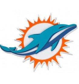Miami Dolphins 3D Foam Logo Sign