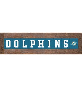 RUSTIC MARLIN Miami Dolphins Marlin Classic Wood Sign