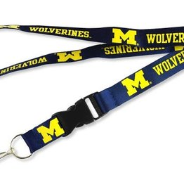 AMINCO University of Michigan Team Lanyard
