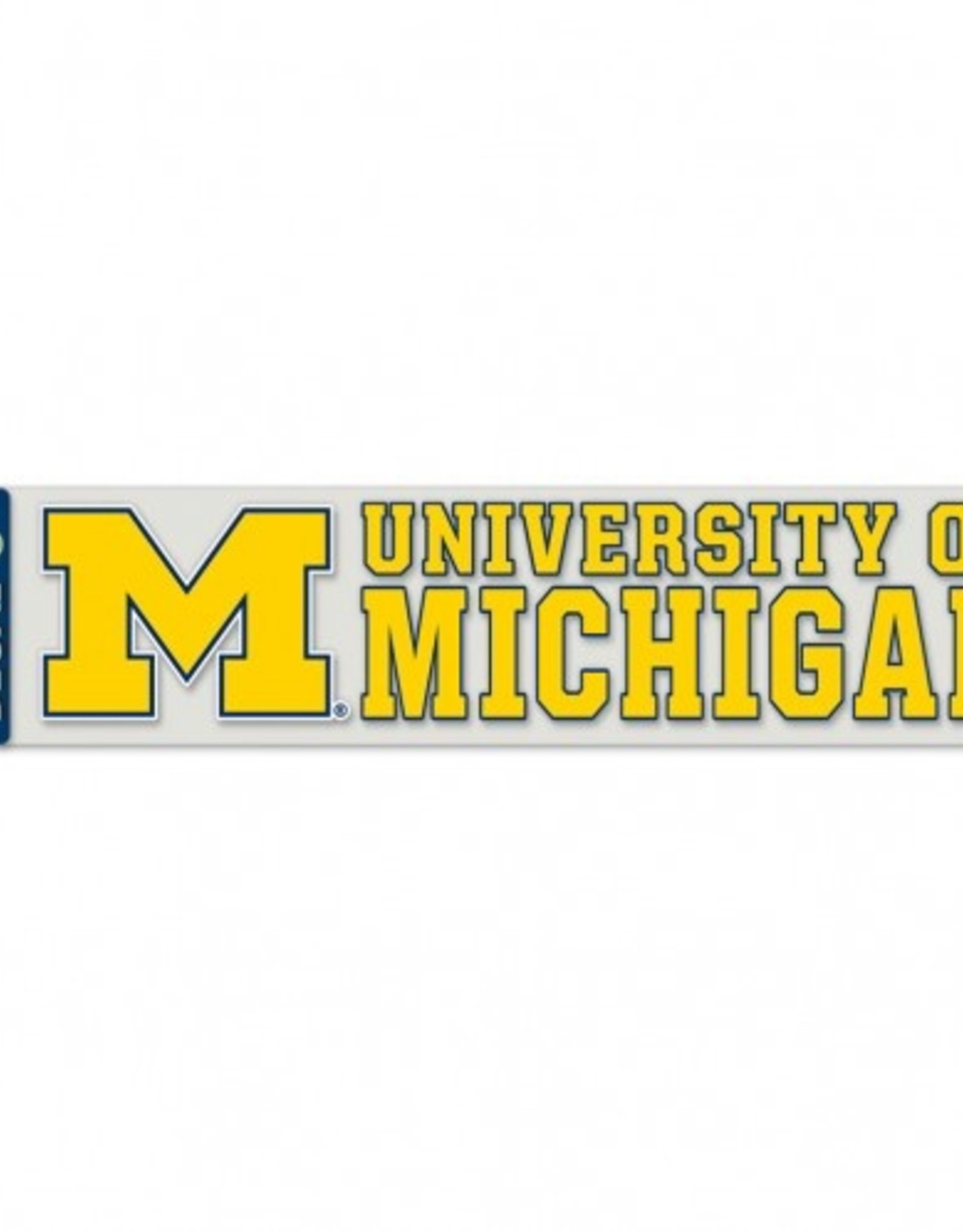 "WINCRAFT Michigan Wolverines 4""x17"" Perfect Cut Decals"