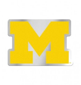 Michigan Wolverines Laser Cut Auto Badge Decal