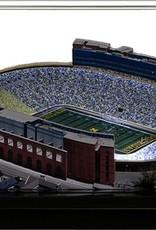 HOMEFIELDS University of Michigan 9in Lighted Replica Michigan Stadium
