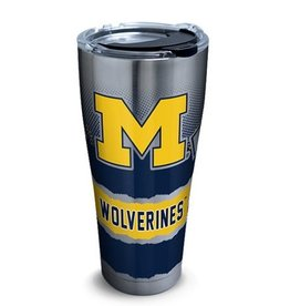 University of Michigan TERVIS 30oz Stainless Steel Knockout Tumbler