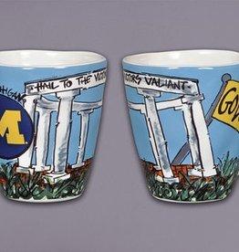 Michigan Wolverines Art Mug