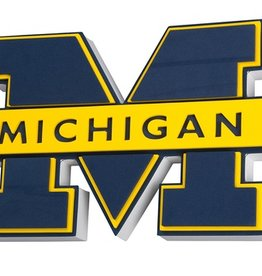 University of Michigan 3D Foam Logo Sign