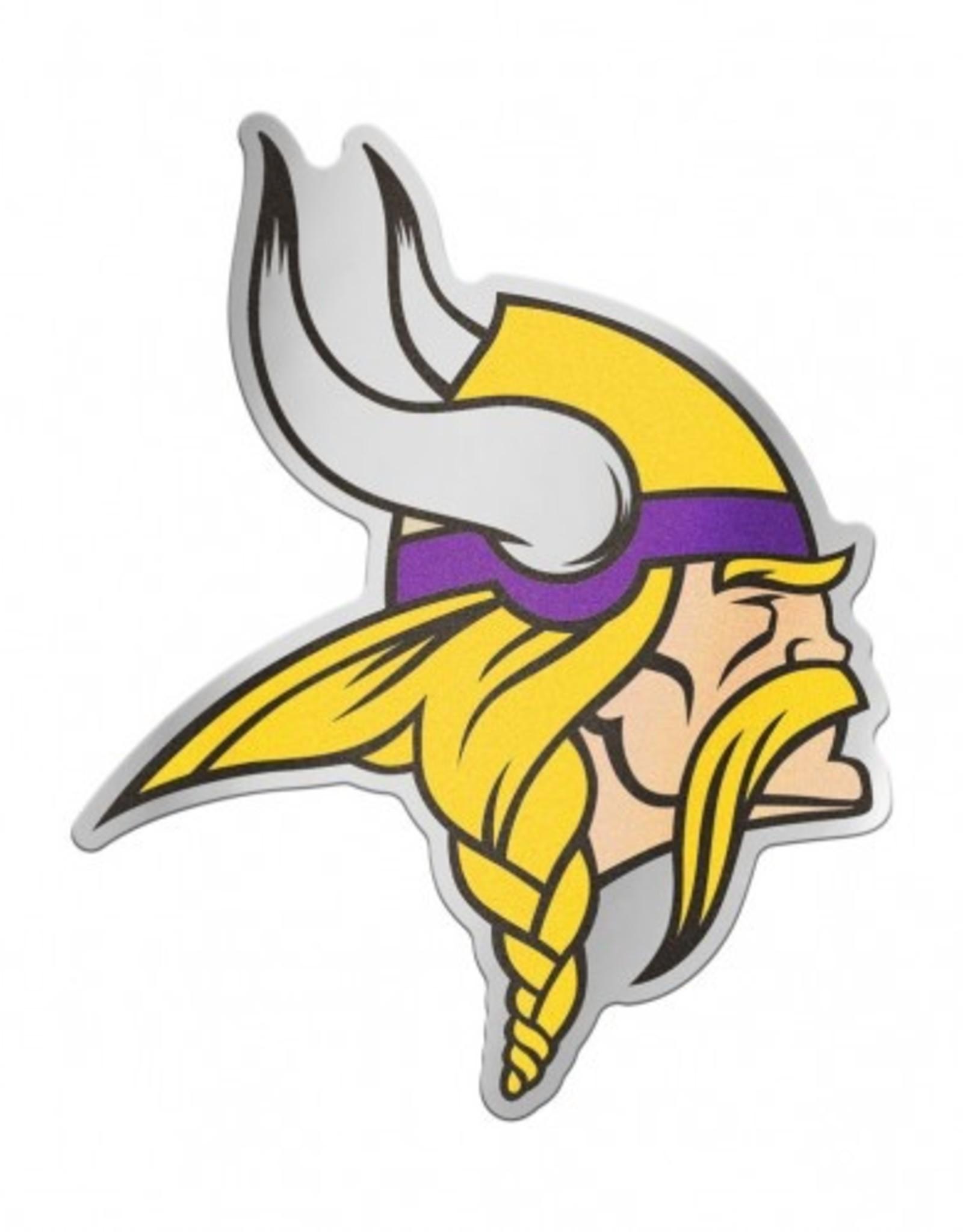 Minnesota Vikings Laser Cut Auto Badge Decal