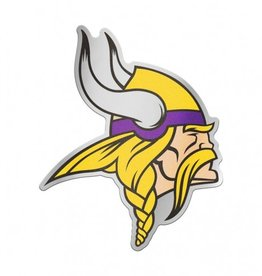 Minnesota Vikings Laser Cut Auto Badge Decal