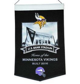 WINNING STREAK SPORTS Minnesota Vikings U.S. Bank Stadium Banner