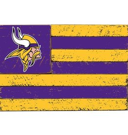 RUSTIC MARLIN Minnesota Vikings Rustic Team Flag