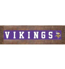 RUSTIC MARLIN Minnesota Vikings Marlin Classic Wood Sign
